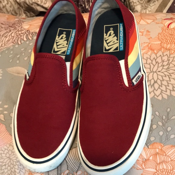 Vans Shoes   Vans Rad Rainbow Slip On
